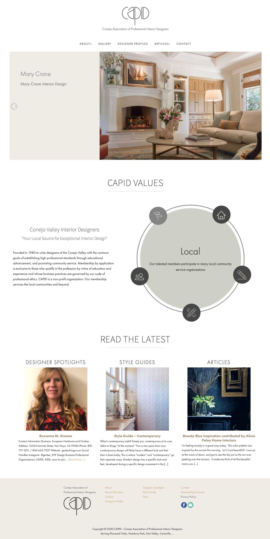 Capid home page